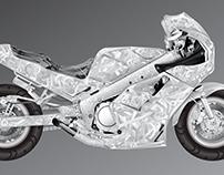 Yamaha FZR-1000 (Vector)