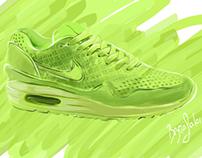 Nike AIRMAX - Drawing