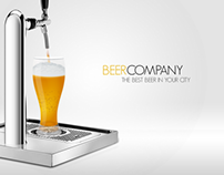 Beer Company Dynamic Flash Template