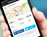 Tracday - Sports Tracker iPhone App
