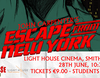 Grindhouse Dublin: Escape From New York Poster