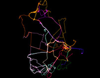 GPS Map from latest Secret Cities Project