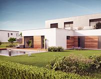 Modern House - 3D visualization