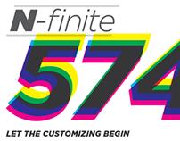 New Balance N-finite Customization