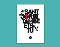 Sant Jordi També Ets Tu // You are also St. George