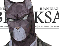 Polygonal Illustration: Blacksad