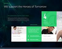Transtelecom New WebSite UI