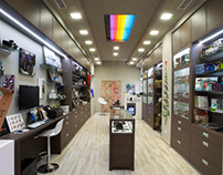 """FOTOBAR"" STORE DESIGN & CONSTRUCTION"