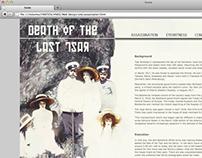 Tsar Assassination Site