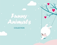 Collection of funny animals