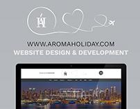 Aroma Holiday | Website Design & Development