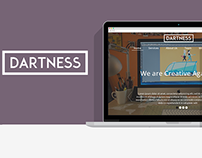 Dartness Creative PSD Theme