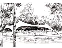 Suburban park