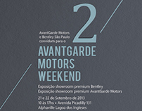 Convite | 2º AvantGarde Motors Weekend