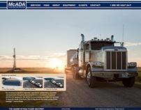 McAda Parallax & Multi page