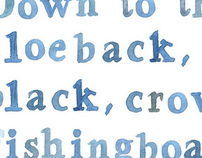 Undermilk Wood Typography
