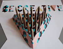3D poster BE CREATIVE