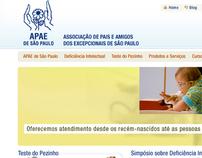 APAE de São Paulo - Site