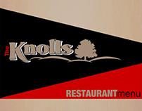 Knolls Restaurant Menus