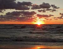 Sun set of 2010.10.04