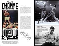 M. Ali for sport magazine