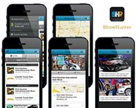 ShowHunter iPhone App