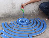 Water Maze installation