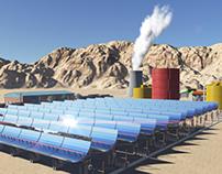 Solar Thermal Planet In Gaza Strip