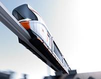 Monorail rescue service