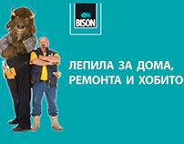 Bison advertising