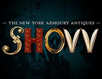 Antiques Show Typography