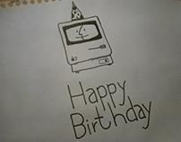 Happy Birthday Mac