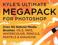 Kyle's Megapack Photoshop Brushes