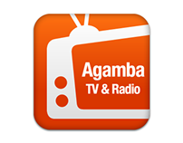 Agamba TV & Radio - App Icon