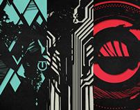 Outside | Laser-Cut Print Series
