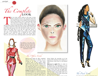 Magazine Spreads on The Complete Look