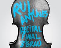 Rui Antunes Violin Recital