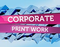Corporate Print Work