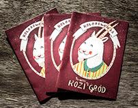 "Coloring Book for Children visiting Hotel ""Kozi Gród"""