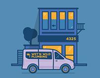 Ford Transit / Illustrations