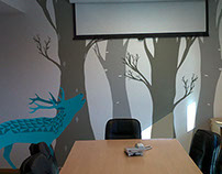 Decoration - Vinyl Wall Illustration