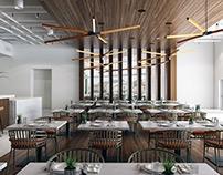 Design-concept of restaurant