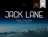 Jack Lane Display - Free Typeface