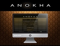 Stencils on behance for Anokha cuisine of india