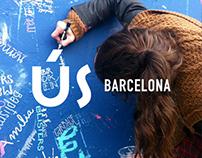 ÚS BARCELONA festival - my wall