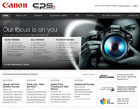 Canon USA Site Designs