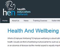 Health Educators Network Website Redesign