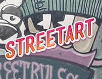 StreetArt - Billy Egg y muros