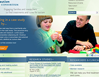 WEBSITE for AUTISM CONSORTIUM