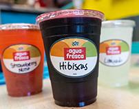 Cactus Cafe Tex Mex - Agua Fresca - Branding